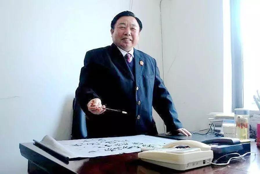 中国著名书法家聂涛同志荣